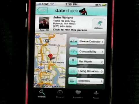Intelius - Date Check Mobile App Demo 2009