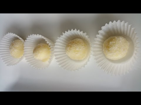 White chocolate Truffles # 61