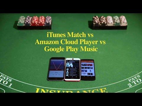 iTunes Match vs. Amazon Music vs. Google Play Music
