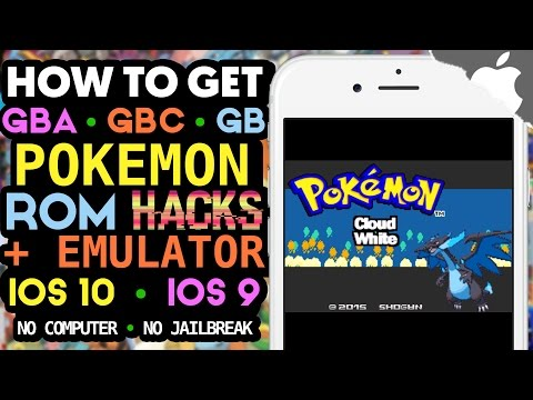NEW! How to Get Pokemon ROM Hack Games on your iOS Device! (NO COMPUTER) (NO JAILBREAK) GBA, GBC, GB