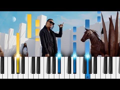 Ozuna - BAILA BAILA BAILA - Piano Tutorial - Como tocar