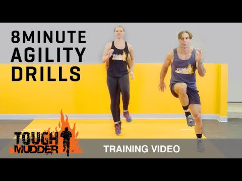8 Min Agility Drills to Increase Speed and Endurance - Ep. 4 | Tough Mudder