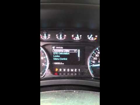 How to reset oil life 2011 F150