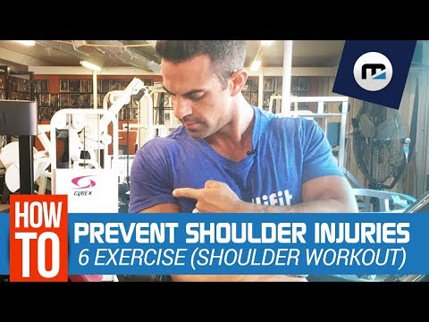 ⁉️ How To Avoid DANGEROUS Shoulder injuries 😱 6 Exercises FULL Shoulder Workout (NEW)
