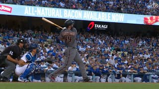ARI@LAD Gm2: Goldschmidt belts a two-run homer