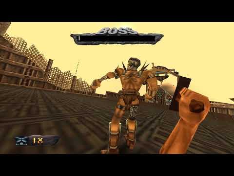 Bullying the Final Boss's AI - Turok: Dinosaur Hunter