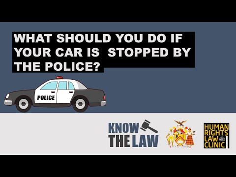 Know The Law: What should you do if you are pulled-over by the police In Trinidad and Tobago?