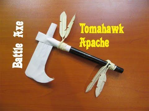 How to Make a Tomahawk Apache Battle Axe - Easy Tutorials