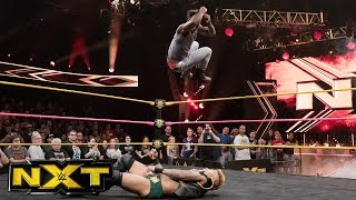 Velveteen Dream tries to get Aleister Black