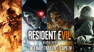 RESIDENT EVIL 7 LAUNCH TRAILER | NEW Tape 4 - RE7 Final Preview | Game Revealed