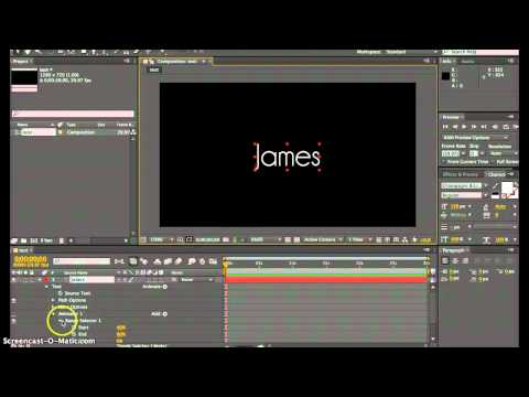 Text Animation in After Effects CS6