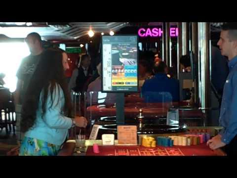 Carnival Sensation winning at roulette