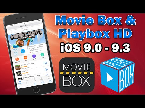 Install Movie Box & Playbox HD for Free on iOS 9.3 / 9.2.1 (No Jailbreak) iPhone, iPod touch & iPad