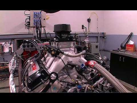 NASCAR Holley Fuel Injected Engines on the Dyno