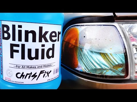 How to Replace Blinker Fluid