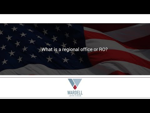 What is a regional office or RO?