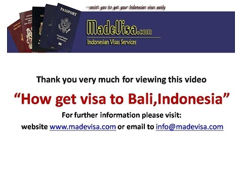 Before travel You must know how to get VISA to Bali, Indonesia easily