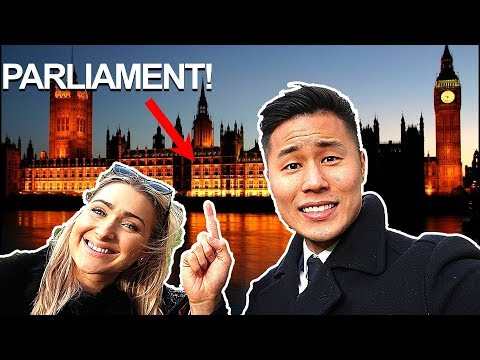Speaking at the PARLIAMENT in London! | Insider vlog #15