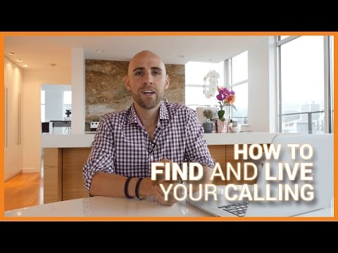 How To Find And Live Your Calling
