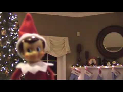 Proof that elves (elf on a shelf) move around the house