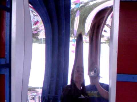 fun house carnival mirrors
