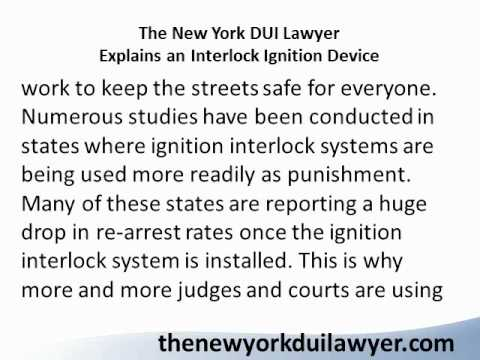 The New York DUI Lawyer Discusses Expungement.wmv
