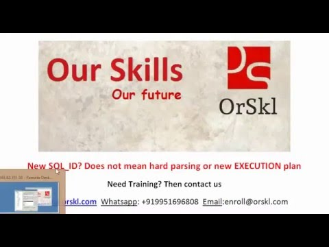 New SQL ID Does not mean hard parsing or new execution plan