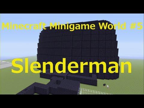 Minecraft Xbox 360 Edition Minigame World #5 - Slenderman