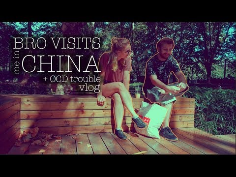 VLOG   my brother visits! +ocd drops in too