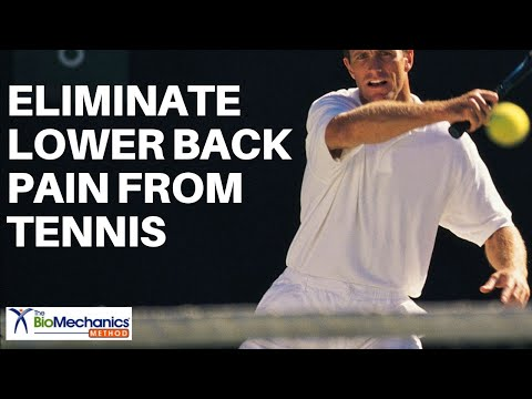 Eliminate Lower Back Pain from Tennis