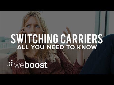 Switching Carriers - All You Need To Know | weBoost