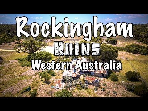 Old ruins around Rockingham in Western Australia