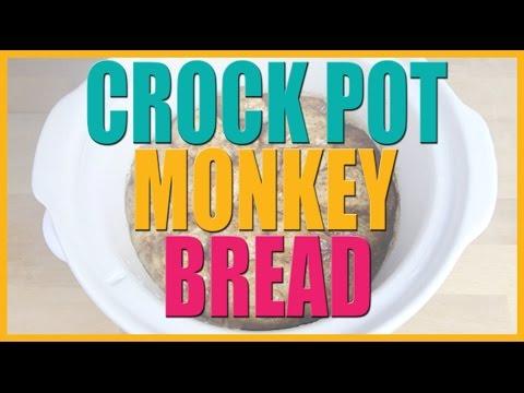 Crock Pot Monkey Bread