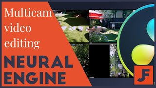 Multicam Video Editing- Davinci Resolve 16 Neural Engine