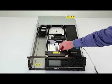 Dell Storage ML3: Remove/Install Picker Assembly, Accessor, and Spooler Mechanism