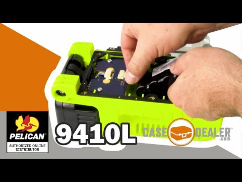 Pelican 9410L - Battery Replacement