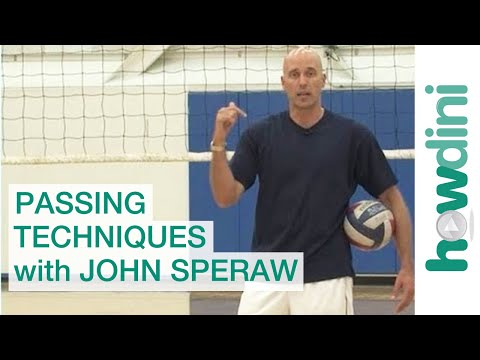 Volleyball tips: Passing techniques with John Speraw