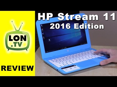 HP Stream 11 / 14 $200 Windows Laptop Review - NEW for 2016 - Improved with 4GB RAM!