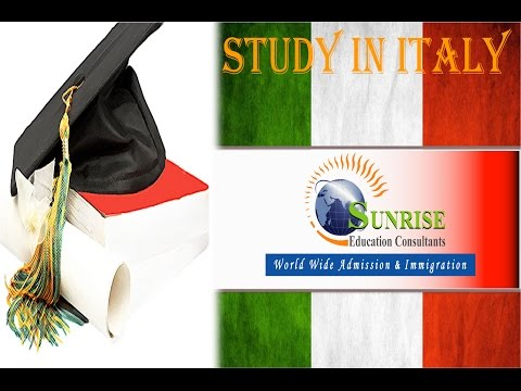 Study in Italy with Full Scholarship