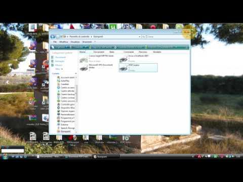 Installare una stampante virtuale PDF