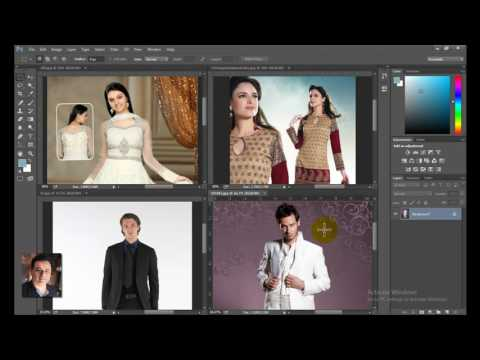 Learn Photoshop in hindi- 19 - Photo view in tiles cascade & tabs