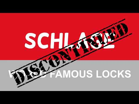 Discontinued Schlage Knobs & Finishes