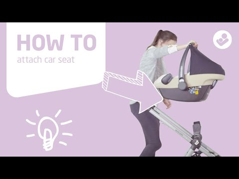 Maxi-Cosi | Zelia stroller | How to attach carseat
