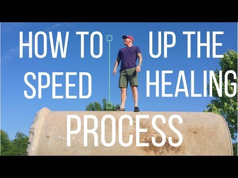Can you SPEED UP the process of healing the skin?