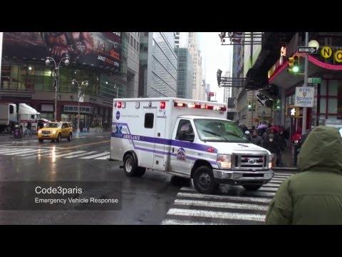 NYC Emergency Ambulance: NYU Langone Medical Center