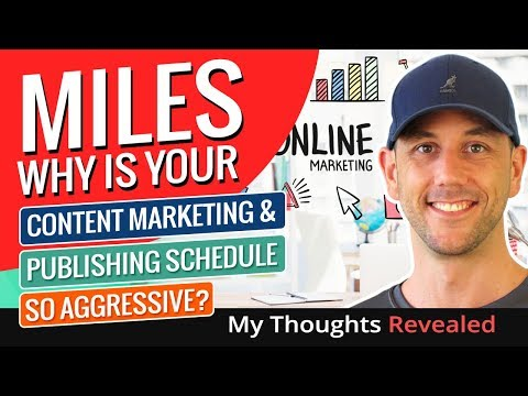 5 Reasons Why An Aggressive Content Marketing Schedule Is Crucial To Your Success Online