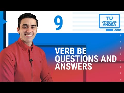 CLASE DE INGLÉS 9 Verb be questions and answers