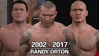 WWE 2K17: The Evolution of Randy Orton (2002 - 2017)
