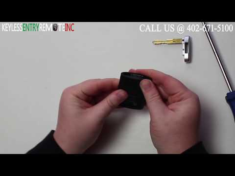 How To Replace Cadillac CTS Key Fob Battery 2009 2010 2011 2012 2013