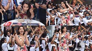 @Nora Fatehi Celebrates 1 Billion Views Of Dilabar on youtube.